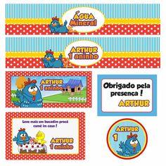 Kit para impressão Galinha Pintadinha