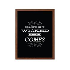 Harry Potter  Something Wicked This Way Comes Poster by SealTypo, $5.00
