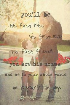 saying for your son<3