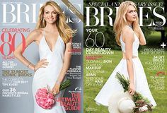 Brides magazine celebrates 80 years this month!  Happy Birthday Brides Magazine!!!  Don't forget to pick up a copy!