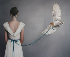 Artist: Amy Judd (girls in white dresses with blue satin sashes....)