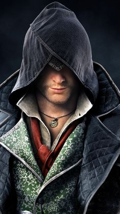 m Rogue Assassin hood portrait Love this hood with the exception of the extra seam on the left Assassins Creed Quotes, Assassins Creed Jacob, Assassins Creed Costume, Assassin's Creed Wallpaper, 2015 Wallpaper, Steampunk Assassin, Assassin's Creed Hd, Assasins Cred, Fantasy Art