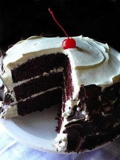 Recipe for Chocolate Dream Cake - Chocolate chiffon cake with whipped cream frosting and chocolate shavings for garnish. In Hawaii this is known as the chocolate dream cake. And for chocolate lovers…this cake does not have to be just a dream any longer…you can make it a reality!