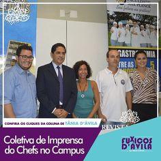 Na manhã de ontem dia 19 de Abril a Faculdade MaxPlanck reuniu a imprensa em uma coletiva para anunciar a 2ª edição do Chefs no Campus. Acompanhe os Clicks da coluna Fuxicos Davila na Revista DÁvila. http://ift.tt/1UOAUiP (link na bio).