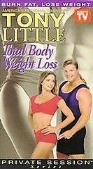 New Sealed Tony Little Total Body Weight Loss - Private Session Series VHS
