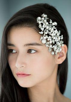 人気のヘアの Hair Arrange, Hair Decorations, Wedding Hairstyles, Wedding Inspiration, Bridal, Hair Styles, Beauty, Dresses, Hair Plait Styles