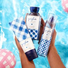 NEW Gingham is a fresh blend of bright florals with a hint of sweet citrus! Bath N Body Works, Bath And Body Works Perfume, Girlie Style, Lush Bath, Body Spray, Smell Good, Body Care, Health And Beauty, Fragrance