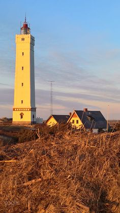 Lighthouse Blavand by Eick Ziebell #lighthouses #lighthouse