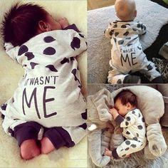Newborn Infant Baby Boy Girl Kids Cotton Romper Jumpsuit Bodysuit Clothes Outfit #Unbranded #DressyEverydayHoliday https://presentbaby.com
