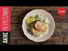 Γεμιστό ρολό κιμά κοτόπουλου από τον Άκη Πετρετζίκη. Φτιάξτε ένα γεμιστό ρολό με κιμά κοτόπουλου, χρωματιστές πιπεριές και κίτρινα τυριά! Ένα τέλειο γεύμα! Low Sodium Recipes, Cooking Recipes, Eggs, Breakfast, Kitchen, Youtube, Greek, Food, Morning Coffee