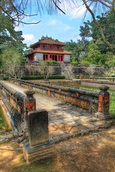 Minh Mang Tomb . Hue, Vietnam