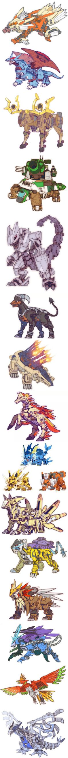 "These ""Pokezoids"" Will Definitely Impress You (By 太斗)"