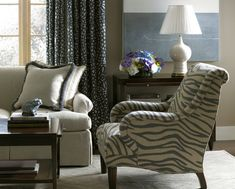 Alexa Hampton Furniture for Kravet, created exclusively for Kravet by Hickory Chair