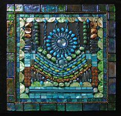 Mosaic/Construction: Raining Star by jdkroenke on Etsy