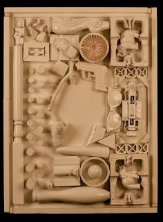 ryan mcdonell: Louise Nevelson inspired sculptures