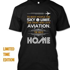 Discover National Aviation Day T-Shirt from Aviation, a custom product made just for you by Teespring. National Aviation Day, Tee Design, Shirt Designs, Just For You, Tees, Mens Tops, T Shirt, Women, Fashion