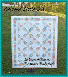 Welcome Little One Quilt - F8 bundle