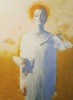 Selected Artworks by artist Solly Smook. His chosen medium is oil on canvas. Figure Painting, Painting & Drawing, Art Inspo, Art Amour, L'art Du Portrait, Kunst Online, Art Et Illustration, Art Design, Oeuvre D'art