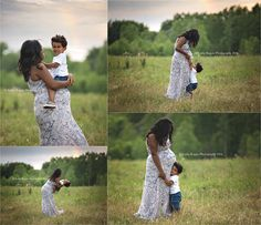 Maternity, baby belly, pregnancy, pregnant, outdoors, park, woods, trees, photos, pictures, photography, mother, son, big brother, dress, rainbow, playing