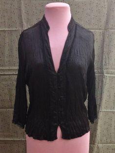 Silky Long Sleeved Blouse 12 $35