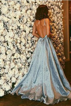 Ball Gowns Blue Sweet 16 Dress Prom Dress,Sexy Gown For Teens,P23