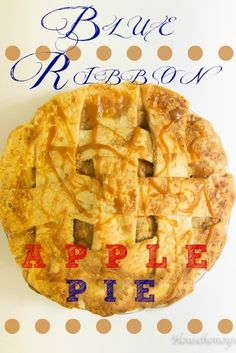NH Blue Ribbon Apple pie winning recipe.  Melts in your mouth!