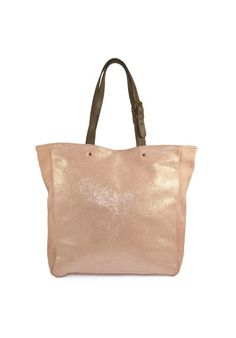 436eb47e855d CODEINEDECO a sélectionné pour vous ce très beau sac cabas en cuir irisé  blush Vincennes 5