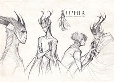 Uphir Demon Physician by dapper-owl.deviantart.com on @deviantART