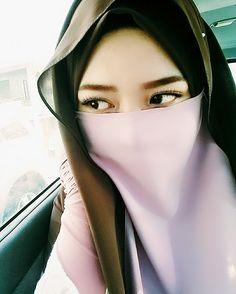 Pink Beautiful Niqab