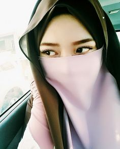 Pink Beautiful Niqab