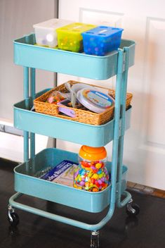 11Ways To Use Ikea Raskog Trolley - Mina and Her Blog