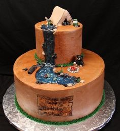 grooms cake - Could be a possibility; how about adding a bicycle???