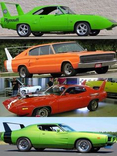 """The very popular Camrao A favorite for car collectors. The Muscle Car History Back in the and the American car manufacturers diversified their automobile lines with high performance vehicles which came to be known as """"Muscle Cars. Old Muscle Cars, Dodge Muscle Cars, American Muscle Cars, Plymouth Road Runner, Automobile, Us Cars, Race Cars, Sexy Cars, Dodge Charger"""