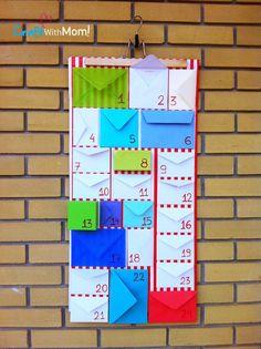 CraftWithMom: X-Mas countdown calendar!!