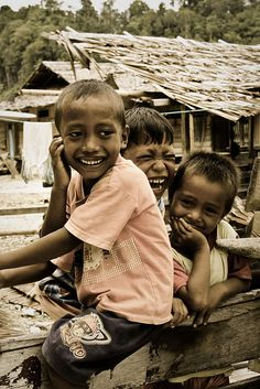 'Children's Laughter' - Togian Islands, Indonesia.