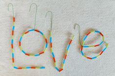 Messages of Hope Kids Craft Diy Straw Crafts, Recycled Crafts Kids, New Crafts, Easy Diy Crafts, Creative Crafts, Arts And Crafts, Kids Crafts, Craft Projects, Craft Ideas