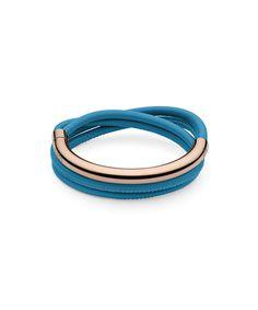 Pulera Qudo Acero Rosa y Cuero Tasso Doppio Internet, Rings For Men, Aster, Bracelets, Leather, Collection, Jewelry, Fashion, Jewel