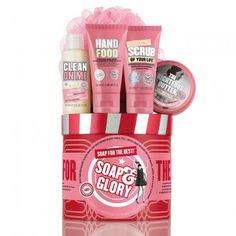 SOAP FOR THE BEST™ GIFT SET A BARREL OF ORIGINAL PINK CLASSICS