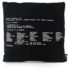 Deam MsDOS Pillow >