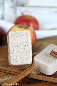 Take a relaxing fall bath with these homemade apple cinnamon soaps. Check out the recipe for this and a ton of other DIY Fall Spa Treatments.