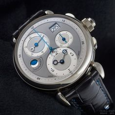 Harmony on the wrist: Voutilainen Masterpiece Chronograph II in white gold