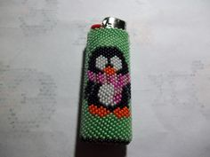 Green Penguin Lighters