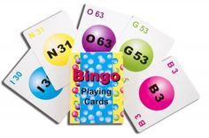 Deck size: L x W x 5 Color Deck; 75 Cards per Deck; Perfect for Bingo on the go! Bingo Games, Novelty Items, Board Games, Chips, Playing Cards, Deck, Education, Color, Colour