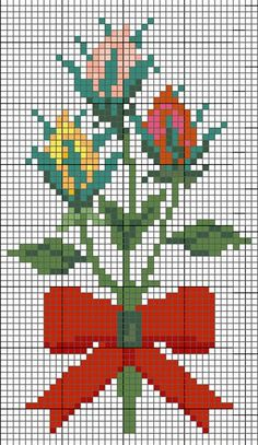 cross stitch pattern - perfect for a new spring project!