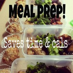 This is the best way to keep your calorie and financial budgets in check. Spending a few hours one day a week makes the rest of the week a breeze and keeps you from grabbing junk food on the fly.