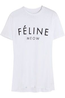 Trend - Tee´s with text - monstylepin #fashion #trend #springsummer2014 #print #printtshirt #slogan