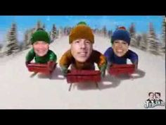 On the 5th Day of Social Media - Five Funky Fearless Leader Videos: Sledding