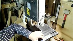 Bandsaw and spindle sander template
