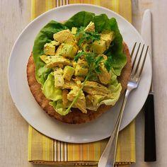 Curried Chicken Salad on Whole-Wheat Pitas - Martha Stewart