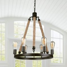 Farmhouse Chandelier LNC Farmhouse Chandeliers for Dining Rooms Rustic Foyer Light Fixture, C Coastal Chandelier, Farmhouse Chandelier, Dining Room Lighting, Chandelier Lighting, Chandeliers, Chandelier Ideas, Dining Room Light Fixtures, Ceiling Light Fixtures, Farmhouse Dining Room Table